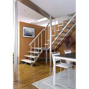 Деревянная межэтажная лестница ЛЕС-05